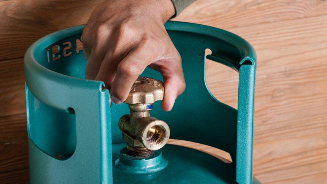 Que faire quand une bouteille de gaz fuit ?